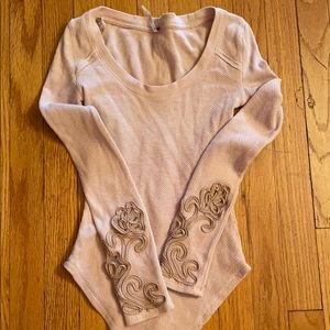 Free People thermal long sleeve xs great condition